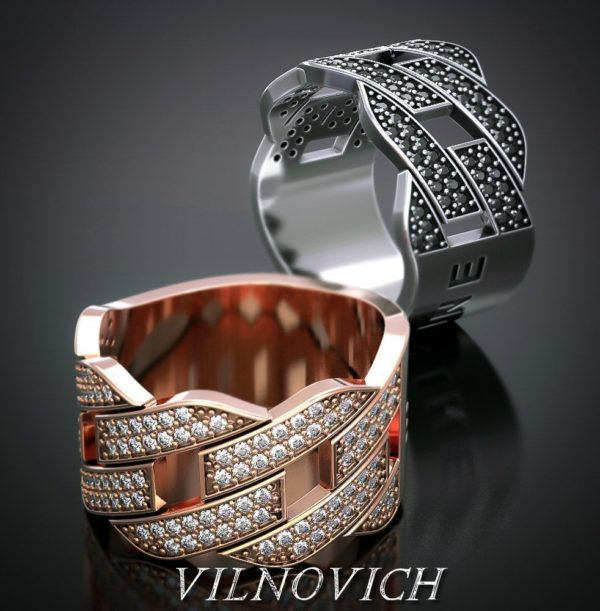 женское  кольцо  1112