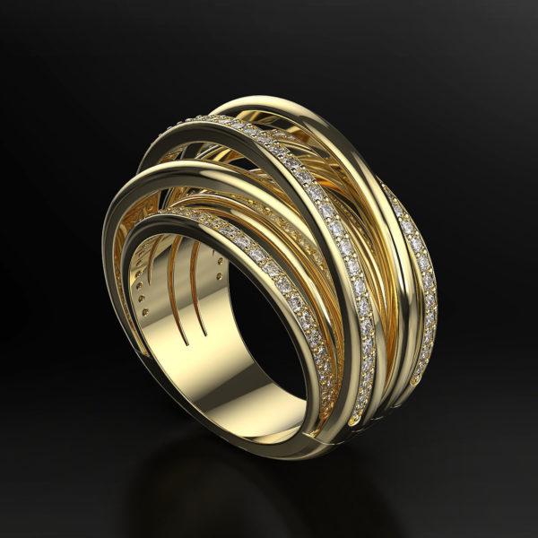 Женское кольцо 1118