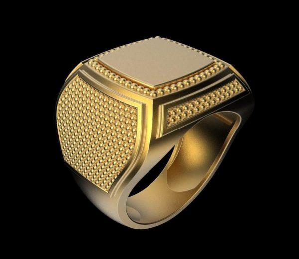 мужское  кольцо 1116