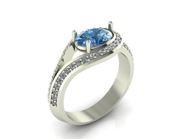 Женское кольцо 1050