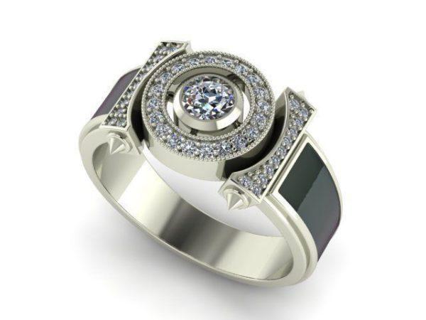 Мужское кольцо 1121