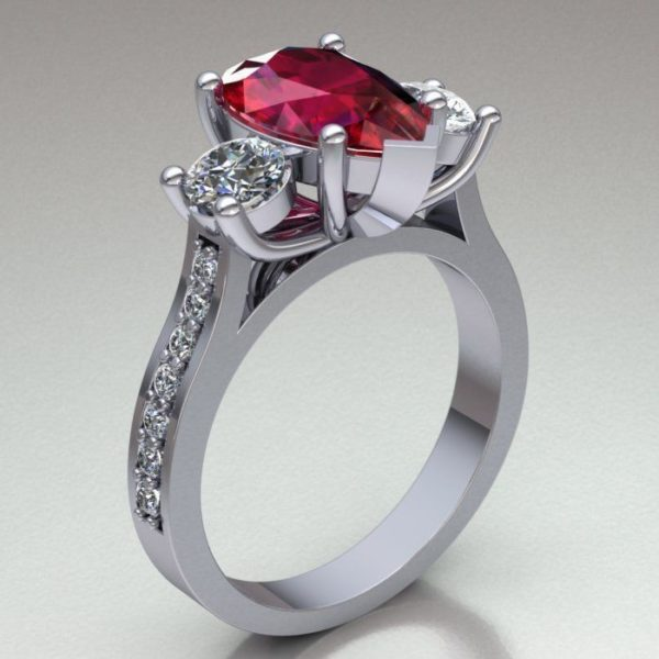 женские кольца  1186