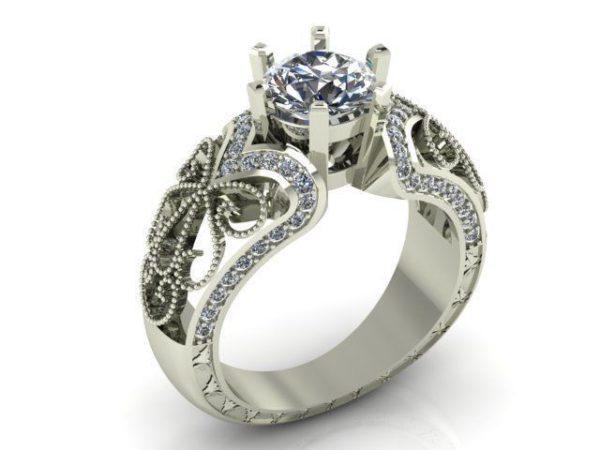 Женское кольцо   1070