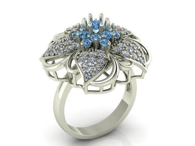 женское  кольцо  1064