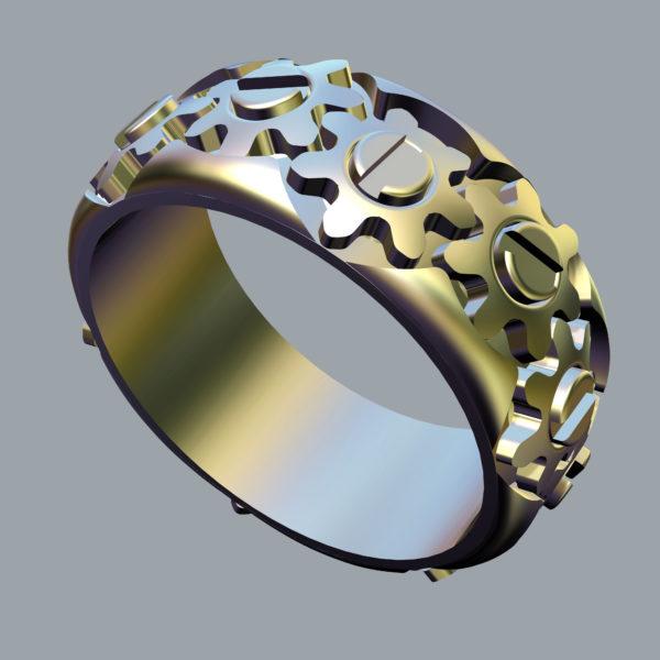 мужские кольцо 1214