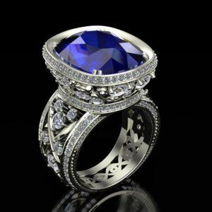 женские  кольца  1177