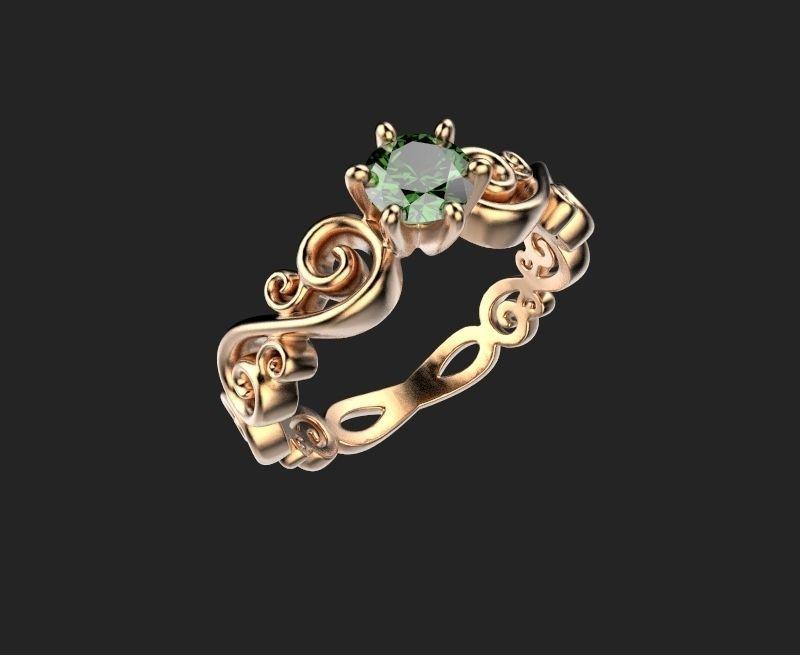 женское  кольцо  1060