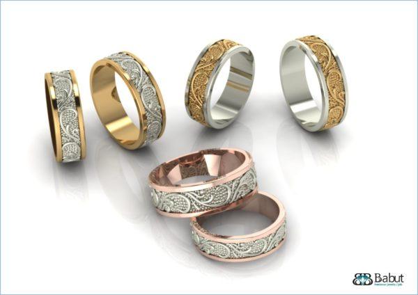Обручальное кольцо  1098
