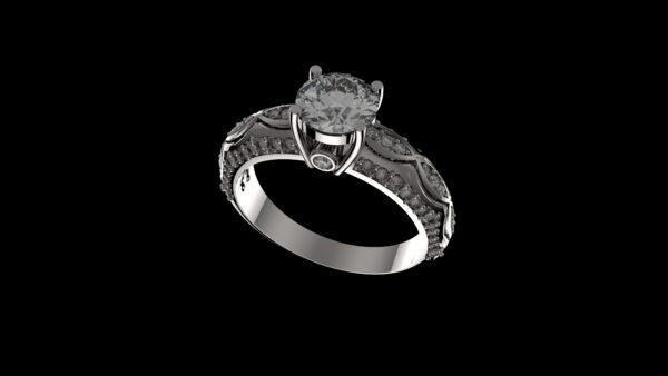 женские кольца  1193