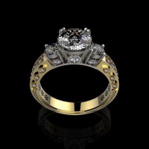 женские  кольца  1195