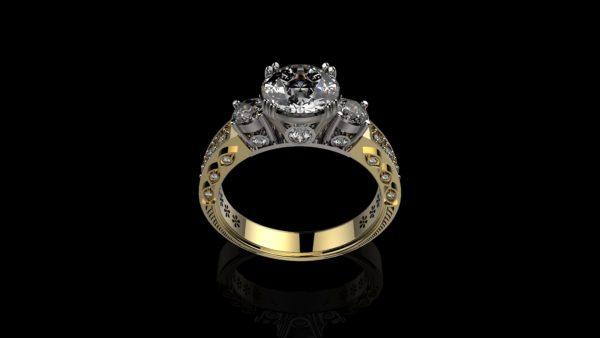 Женское кольцо 1195