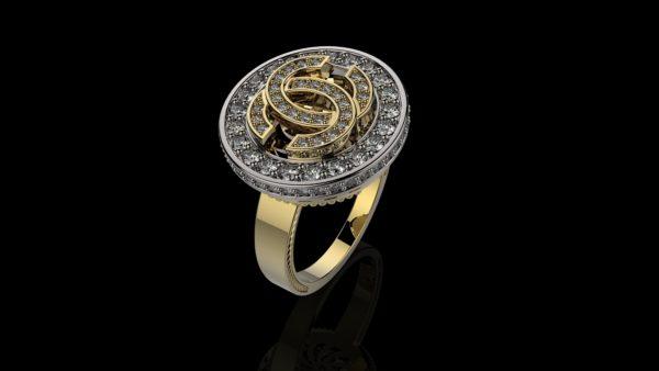 Женское кольцо 1223
