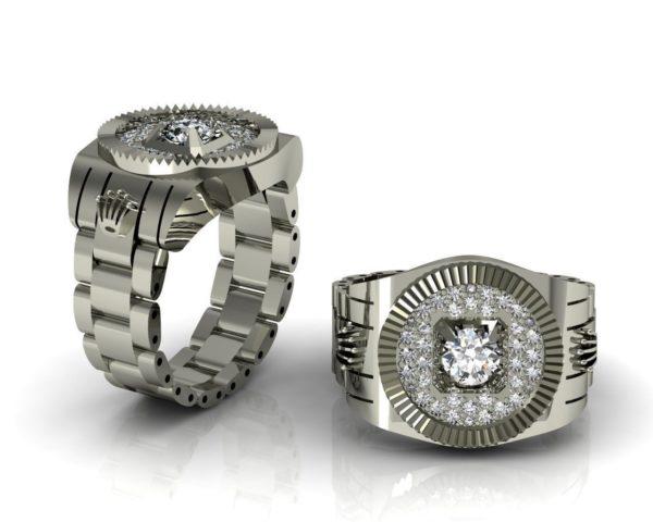 Мужское кольцо 1036