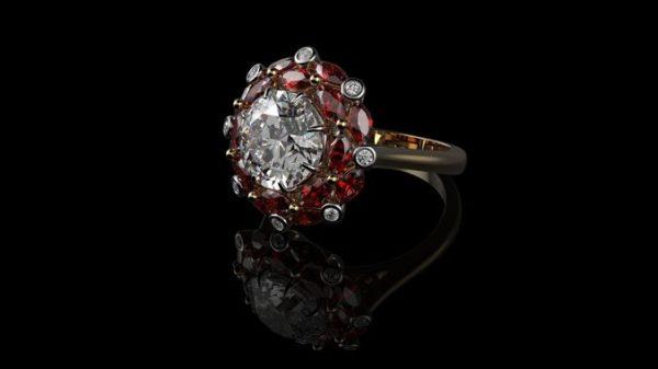 женские  кольца  1205