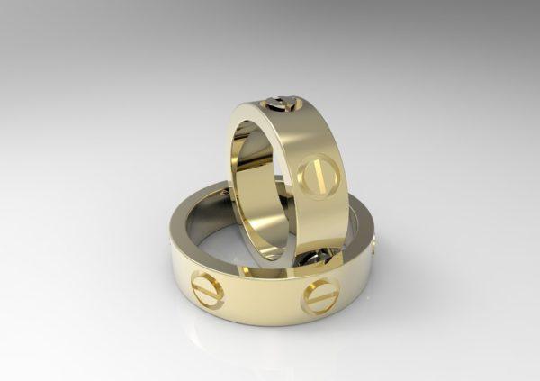 Женское кольцо 1016