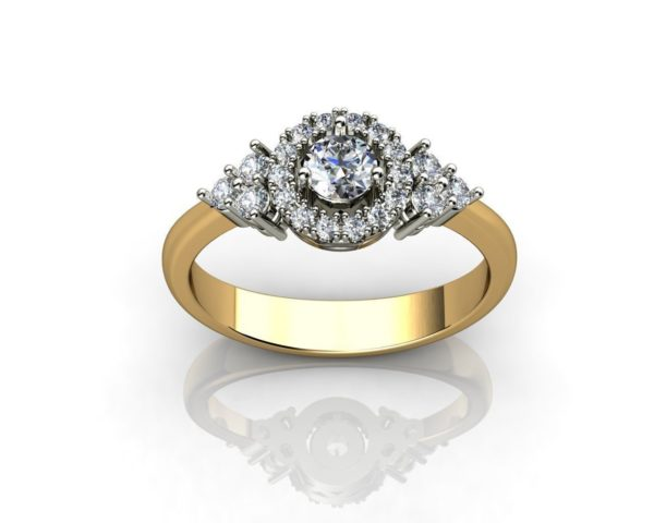 Женское кольцо 1169