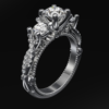 женское кольцо 1139