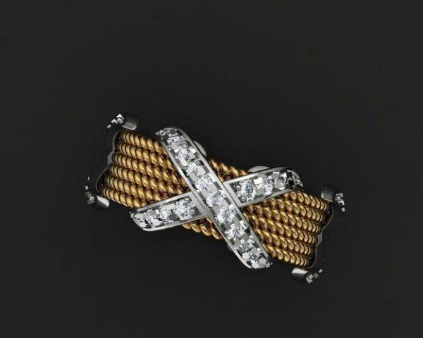 женское кольцо  1150