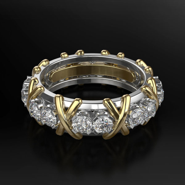 Женское кольцо 1156