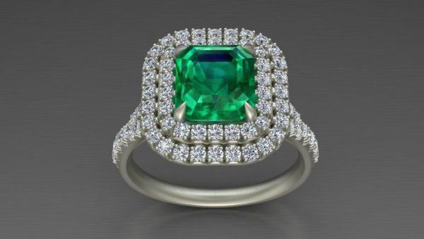 Женское кольцо 1158