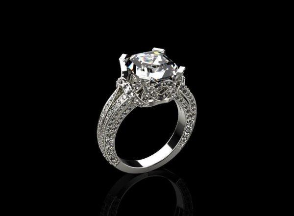 Женское кольцо 1164