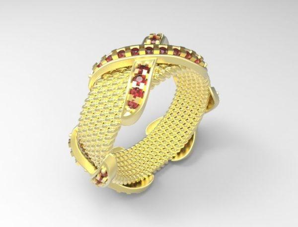 женское кольцо 1162