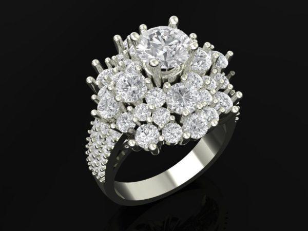 Женское кольцо 1122