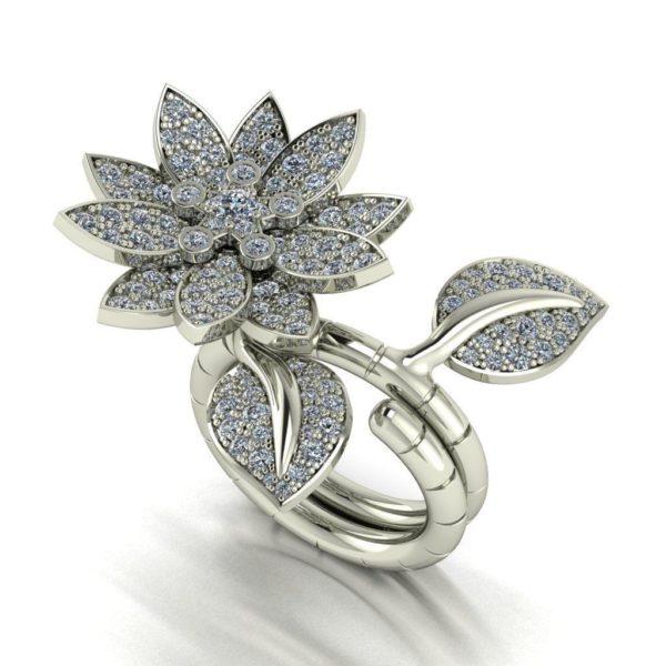 женское кольцо 1138