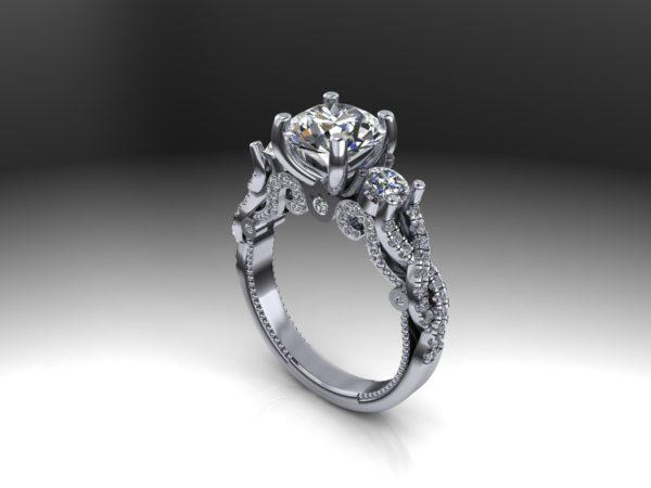 женское  кольцо  1068