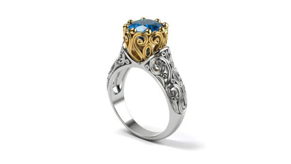 женское   кольцо 1033