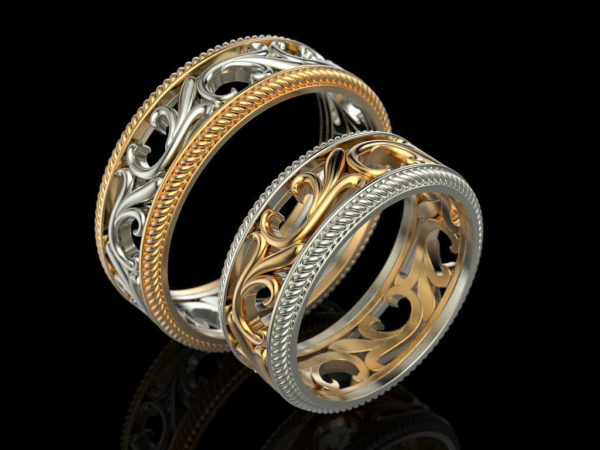 обручальное  кольцо 1047
