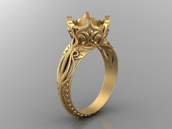 Женское кольцо 1056