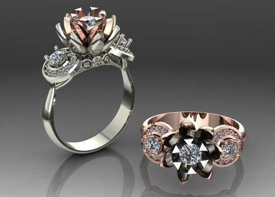 женские  кольца  1180