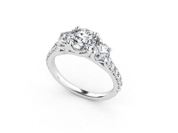 Женское кольцо 1037