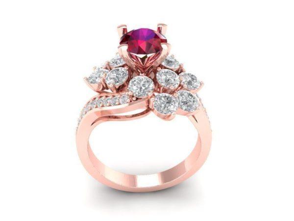 женские кольца 1226