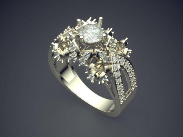 Женское кольцо 1409