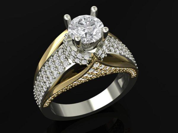 Женское кольцо 1273