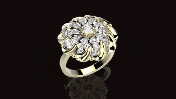 женские кольца 1305