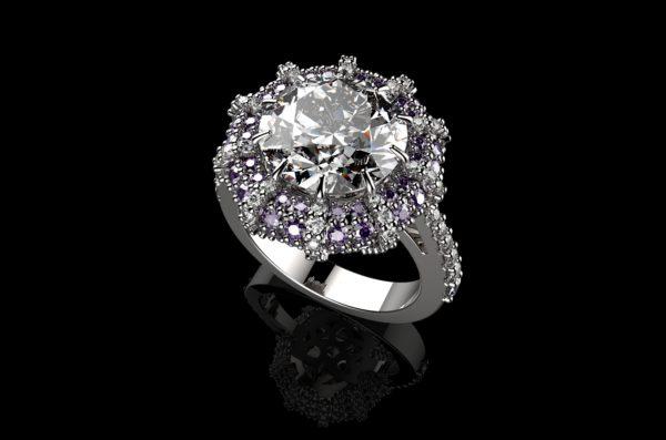 Женское кольцо 1340