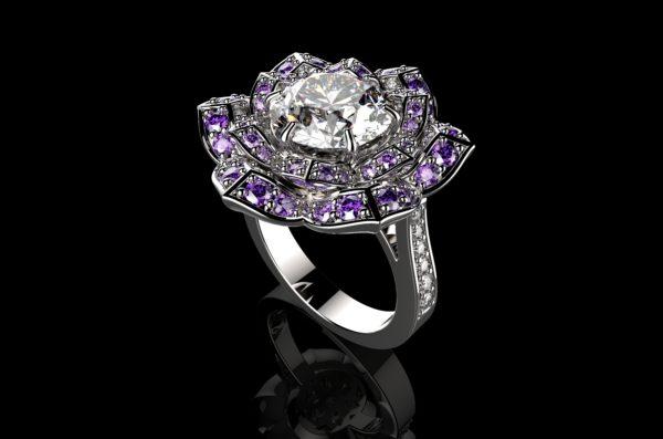женские кольца 1301