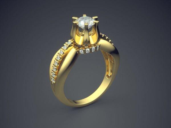 Женское кольцо 1401