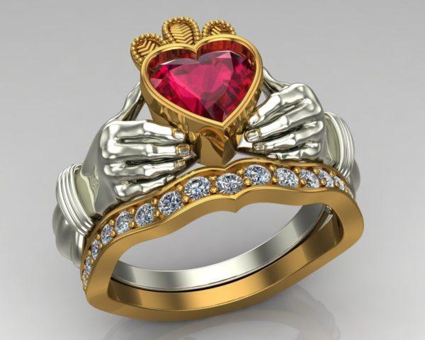 Женское кольцо 1382