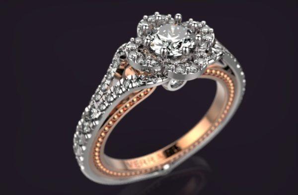 Женское кольцо 1308