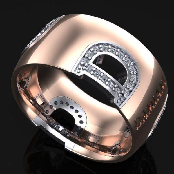 женские кольца  1272