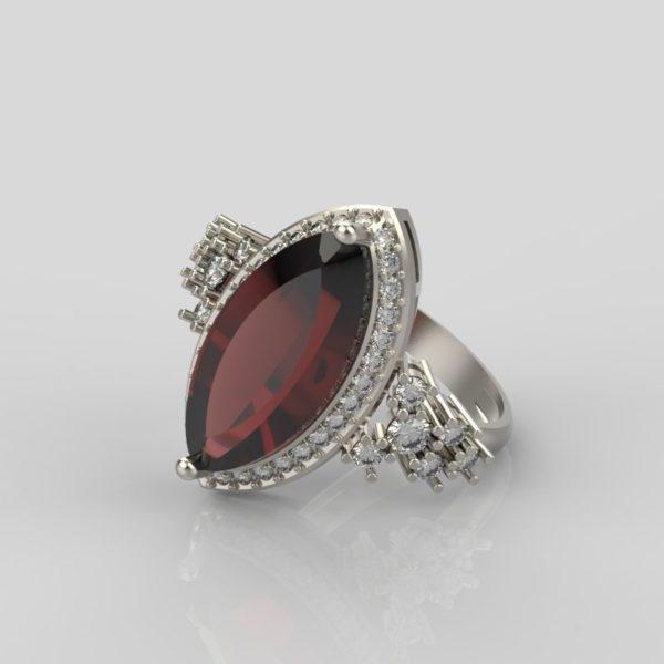 Женское кольцо 1264