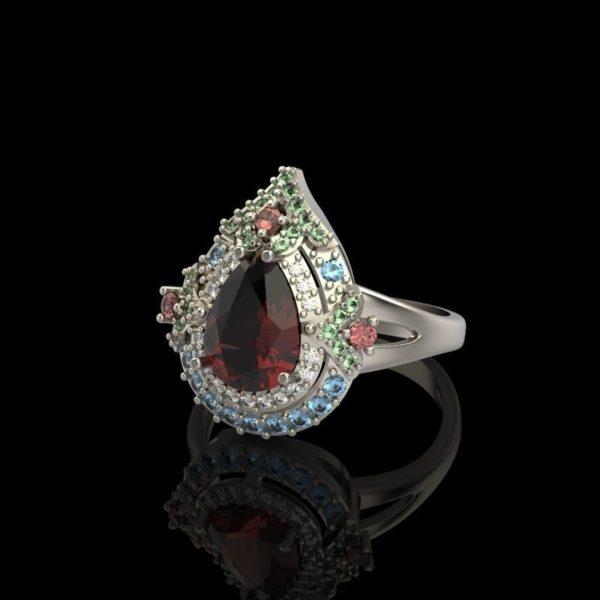 женские кольца  1262