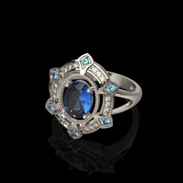 Женское кольцо 1263