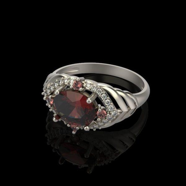 Женское кольцо  1261