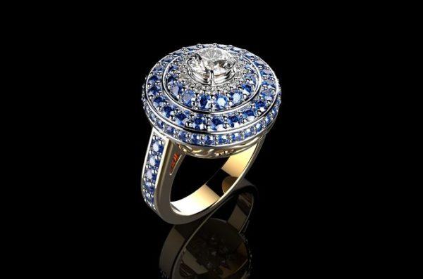Женское кольцо 1303