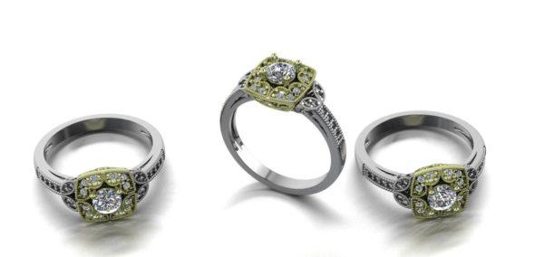 женские кольца 1288